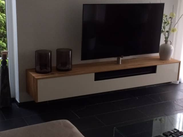 Ruime Tv Kast.Tv Meubel Met Ruimte Voor Sonos Vicini Design
