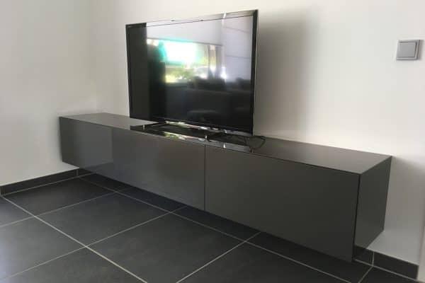 Design Tv Meubel Hoogglans.Tv Meubel Hoogglans Metallic Gespoten Vicini Design